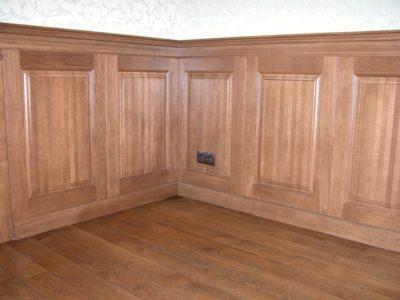 установить деревянные панели